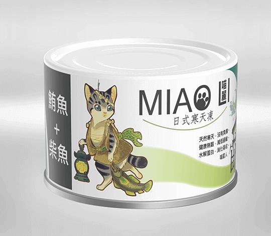 青川淺 喵麗鮪魚柴魚2 貓副食罐 貓罐頭 2