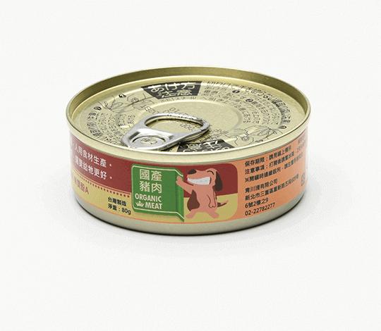 青川淺 60超值犬用泥罐國產豬3 狗主食罐 狗罐頭 3