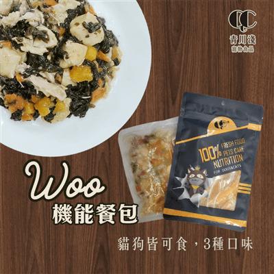 青川淺 woo肉塊鹿肉餐1 狗主食罐 狗罐頭